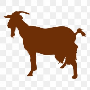 Goat - Boer Goat Sheep Feral Goat Silhouette PNG