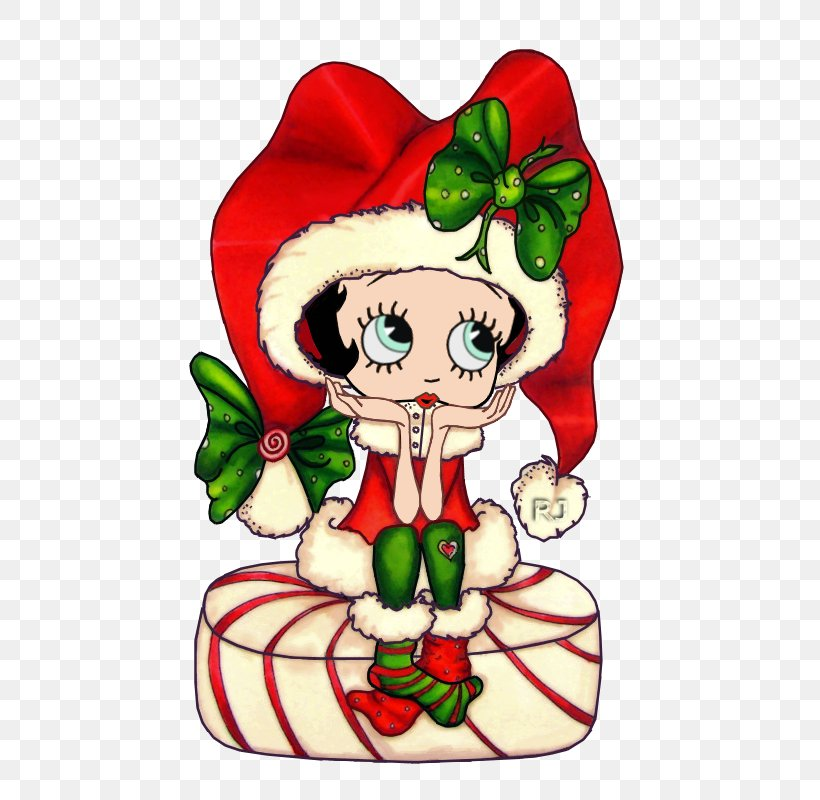 Christmas Day Drawing Christmas Tree Image Santa Claus, PNG, 500x800px, 2018, Christmas Day, Art, Besties, Betty Boop Download Free