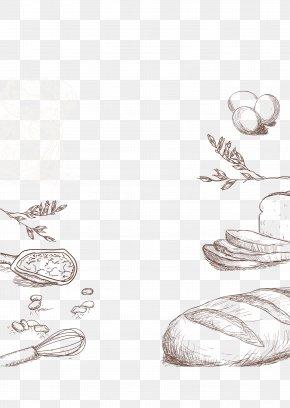 Bakery Decorative Material - Bakery Garlic Bread Euclidean Vector Baking PNG