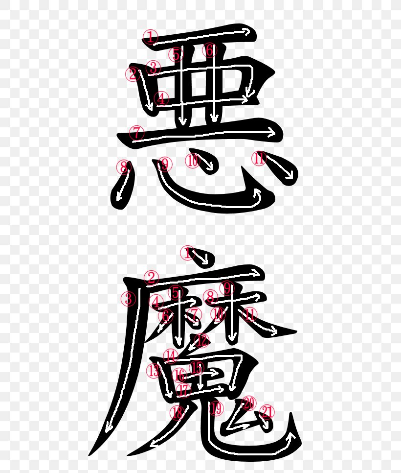 kanji japanese language word symbol demon png 500x966px kanji akuma art character decal download free kanji japanese language word symbol