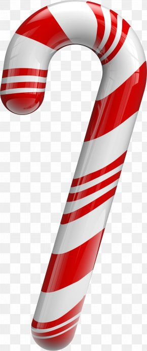 Christmas Candy - Candy Cane Lollipop Clip Art PNG