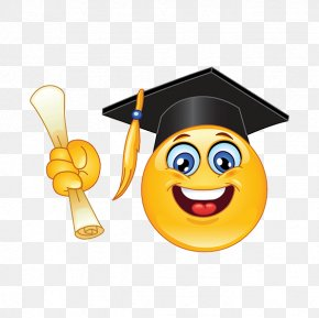 Smiley - Emoticon Graduation Ceremony Smiley Clip Art PNG