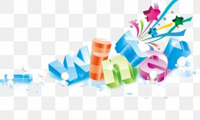 Colorful Three-dimensional Letters Of The Alphabet - Summer Cdr Adobe Illustrator PNG