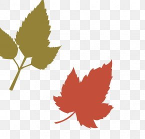Orange Maple Leaf - Maple Leaf Stencil Airbrush PNG