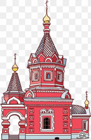 Temple - Saint Basil's Cathedral Temple Cathedral Of Christ The Saviour Church Clip Art PNG