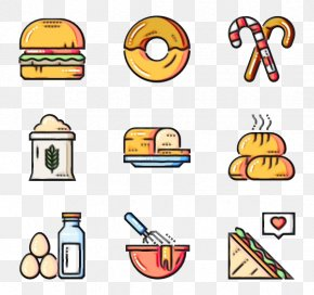 Food Group Yellow - Yellow Clip Art Food Group Line PNG