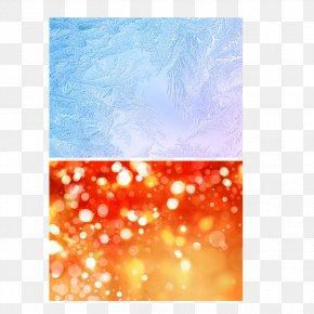Blue Glass - Snow Rain Light Winter Weather PNG