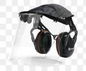 GOGGLES - Visor Earmuffs Personal Protective Equipment Husqvarna Group Poly PNG