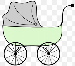 Baby Carriage Clipart - Doll Stroller Baby Transport Cartoon Infant Clip Art PNG