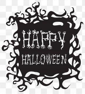 Happy Halloween Free Clip Art Image - Halloween Clip Art PNG