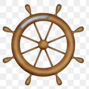Wheel - Ship's Wheel Ship Model Maritime Transport PNG