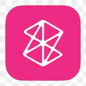 MetroUI Apps Zune - Pink Triangle Area Symbol PNG