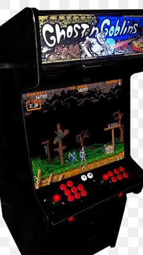 Ghost And Goblins - Arcade Cabinet Ghouls 'n Ghosts Arcade Game Amusement Arcade PNG