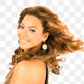 Brown Hair Beauty - Hair Hairstyle Ringlet Blond Skin PNG