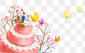 Wedding Cake Design Elements - Birthday Cake Christmas Cake PNG