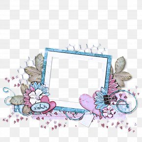 Butterfly Picture Frame - Picture Frame PNG