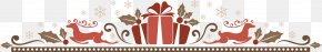 Vector Christmas Decoration Deer Gift - Christmas Decoration PNG