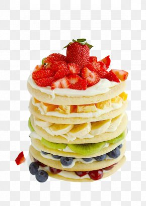 Fruit Cake - Rainbow Cookie Fruitcake Pancake Layer Cake Cupcake PNG