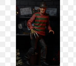 Youtube - Freddy Krueger National Entertainment Collectibles Association YouTube A Nightmare On Elm Street Action & Toy Figures PNG