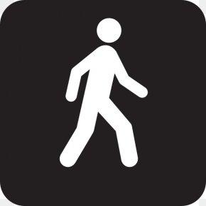 Free Cliparts Walking - Walking Pedestrian Crossing Clip Art PNG