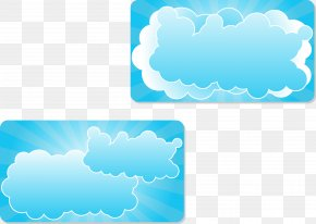 Cloud Vector Illustration - Cloud Euclidean Vector Illustration PNG
