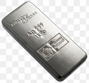 Silver - Silver Bullion Gold Bar Metal PNG
