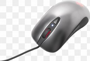 PC Mouse Image - Computer Mouse SteelSeries Pointer Optical Mouse Peripheral PNG