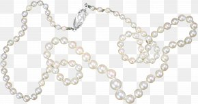 Pearl Necklace - Earring Necklace Jewellery Pearl PNG