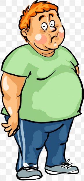 A Fat Man - Man Male Fat PNG