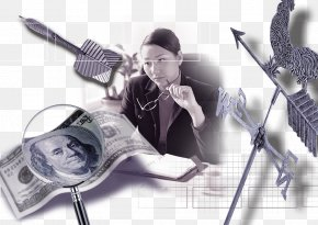 Sword Cluster Money Woman Thinking - Money Download Woman PNG