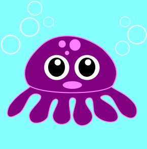 Cartoon Picture Of Octopus - Octopus Cuteness Clip Art PNG