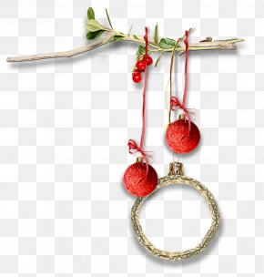 Jewelry Making Twig - Christmas Ornament PNG