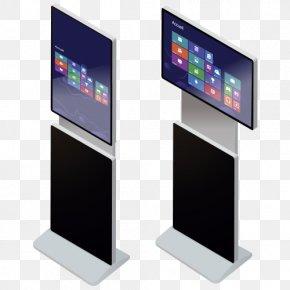 Interactive Led Art - Computer Monitors Touchscreen Video Electronic Visual Display Flat Panel Display PNG