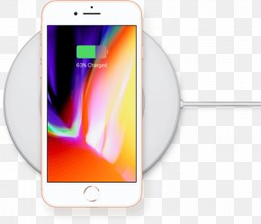 IPhone 8 - IPhone 8 Plus IPhone X Inductive Charging Smartphone Telephone PNG