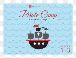 Summer Camp Text - Piracy Pcs Edventures Clip Art PNG