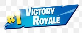Fortnite Victory Royale - Logo Brand Product Design Banner PNG