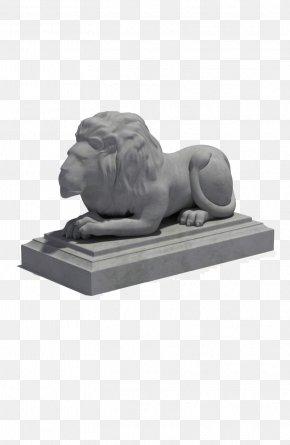 Model Lion Sculpture - Lionhead Sculpture Statue PNG