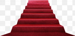 Red Carpet Ladder - Stairs Red Carpet Floor PNG
