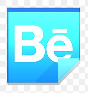Logo Electric Blue - Behance Icon Behance Logo Icon Communication Icon PNG
