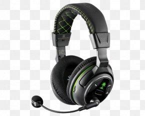 Xbox 360 Wireless Headset - Headphones Xbox 360 Wireless Headset Audio Turtle Beach Corporation PNG