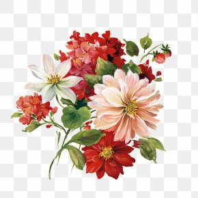 Painting - Painting Flower Decoupage Clip Art PNG