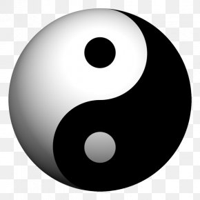 Symbol - Yin And Yang Symbol Taoism Tao Te Ching Philosophy PNG