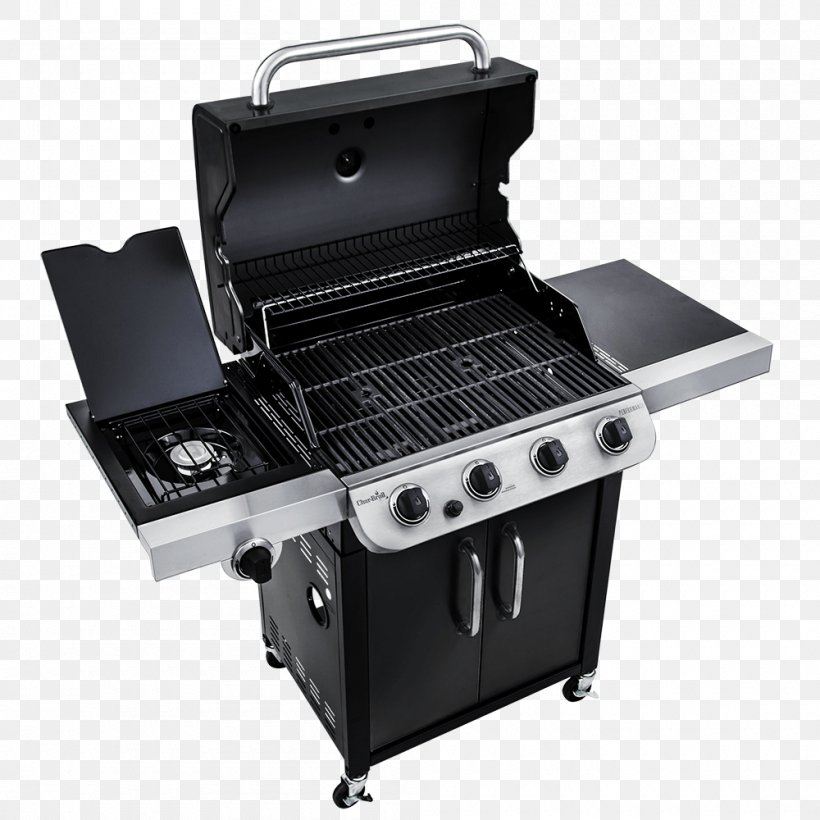 Barbecue Grilling Char-Broil Performance 4 Burner Gas Grill Char-Broil Performance 463376017, PNG, 1000x1000px, Barbecue, Brenner, Charbroil, Charbroil Classic 463874717, Charbroil Gas Grill Download Free