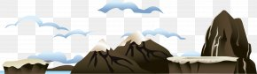 Heavy Mountain Peaks - Euclidean Vector Download Icon PNG