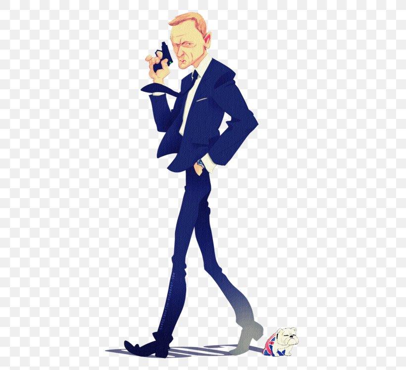 James Bond Character Actor Cartoon Png 500x747px James