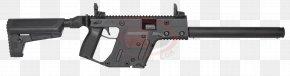 Machine Gun - KRISS Vector Carbine Firearm .45 ACP Gun Barrel PNG