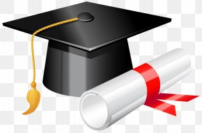 Hat, Graduation - Graduation Ceremony Square Academic Cap Diploma Clip Art PNG