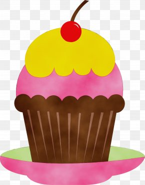 Muffin Baked Goods - Baking Cup Cake Food Dessert Cupcake PNG
