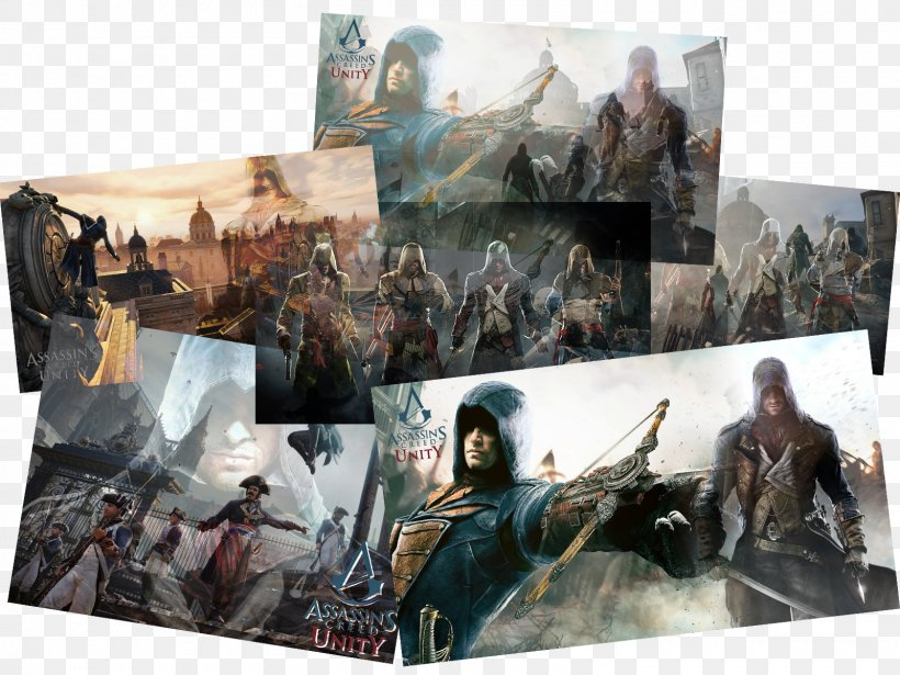 Assassin's Creed III Assassin's Creed Unity Video Game Art Knights Templar, PNG, 1600x1200px, Assassin S Creed Iii, Art, Assassin S Creed, Assassin S Creed Unity, Collage Download Free