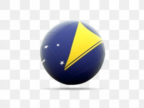 Volleyball Flag Icon Of Tokelau - Sphere Desktop Wallpaper Ball PNG
